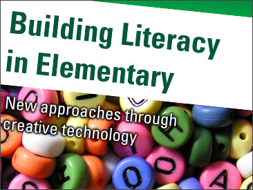 Build literacy with technology.