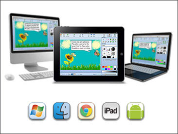 Wixie works on a variety of devices.