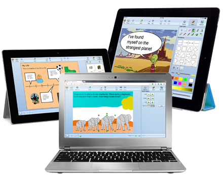 Wixie Creativity Tools